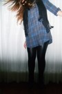 Black-mercearia-leggings-black-accessorize-scarf-blue-c-a-blouse