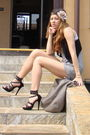 Black-zara-vest-gray-bershka-top-blue-random-brand-shorts-gray-zara-purse-