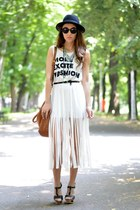H&M hat - nowIStyle dress - Massimo Dutti bag - Ebay sunglasses