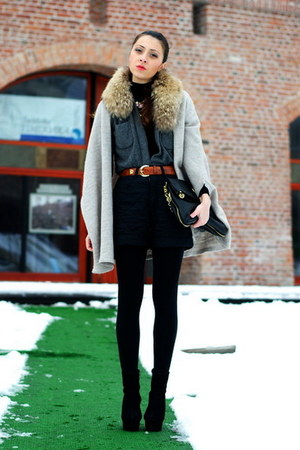 black OASAP boots