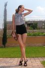 Black-custom-made-shorts-gray-custom-made-blouse-black-custom-made-shoes-b