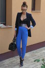 Blue-random-brand-pants-black-jolidon-romanian-brand-top-blue-zara-blazer-