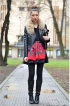 black Sheinside jacket
