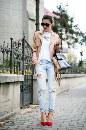 camel shein jacket