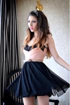 black Magazin Up dress
