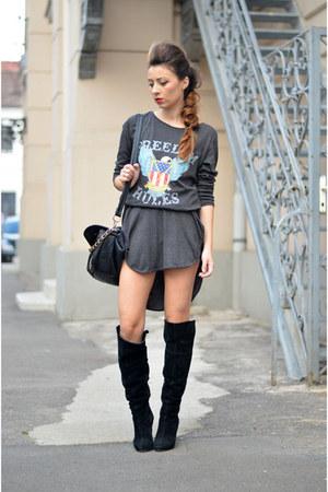 gray PERSUNMALL dress