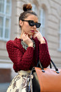 Ruby-red-nowistyle-sweater-black-wizards-of-the-west-sunglasses