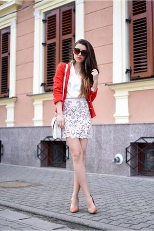white Choies dress