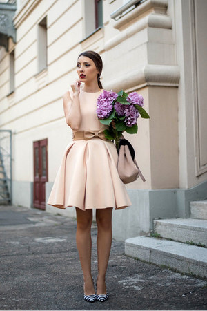 light pink Chicwish dress