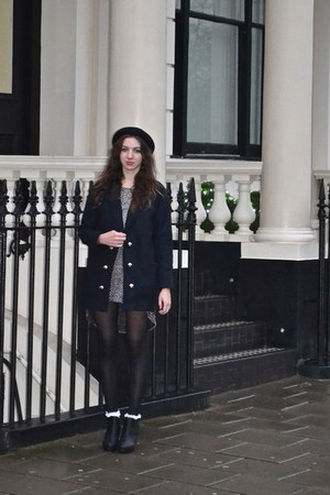 black River Island coat