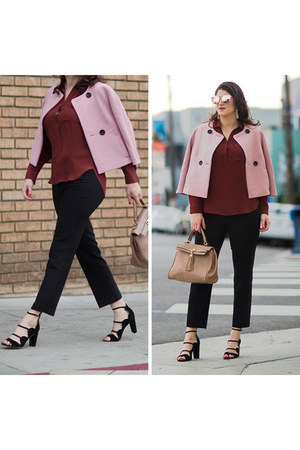 light pink ann taylor jacket