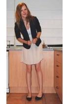 blue juice dress - cotton on blazer - accessories - Target Australia shoes