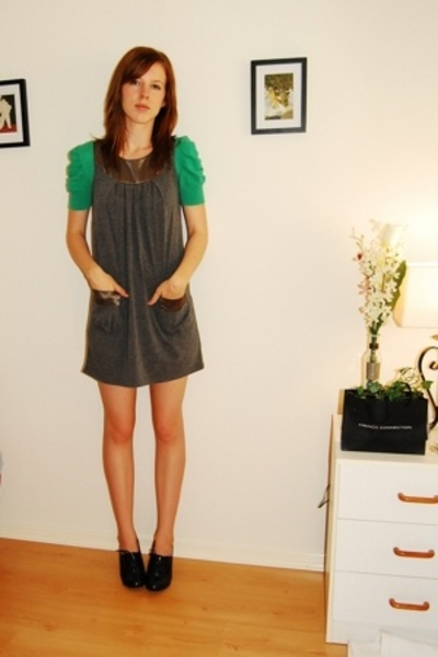 Miss Shop top - Valley Girl dress - Big W shoes