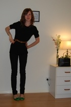 Target Australia top - Miss Shop jeans - belt - Scooter shoes