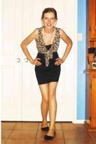 dress - top - shoes - necklace