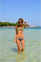 teal Miss Bikini swimwear