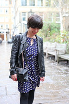 Love dress - gifted jacket - dents bag - Laura Ashley necklace