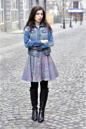 violet La Mode Toujours skirt