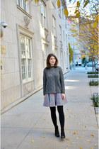 gray Mango sweater