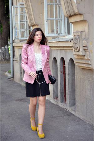 Vero Moda blazer - OASAP bag - H&M top