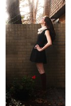 Talula dress - American Apparel tights - American Apparel socks - Zara shoes - w