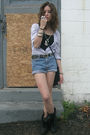 Blue-j-crew-blouse-black-forever-21-shirt-blue-calvin-klein-shorts-black-v