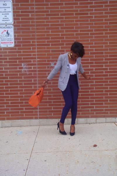 H&M bag - high waisted American Apparel leggings