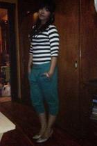 Bershka blouse - pants - shoes - Shasa bracelet
