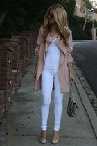 light pink daily look jacket