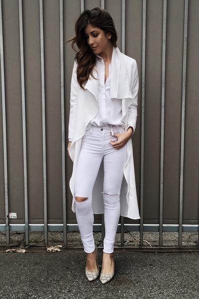 white Hot Miami Styles jeans