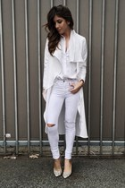 white Hot Miami Styles jeans