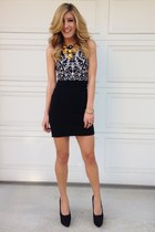 black Azzedine Alaia skirt - H&M dress