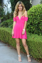 hot pink Luna Boutique dress