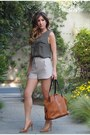 Tawny-sole-society-hat-beige-topshop-shorts-camel-forever-21-heels