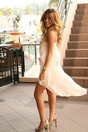 Blush Boutique dress - gold Michael Kors watch - Charlotte Russe pumps