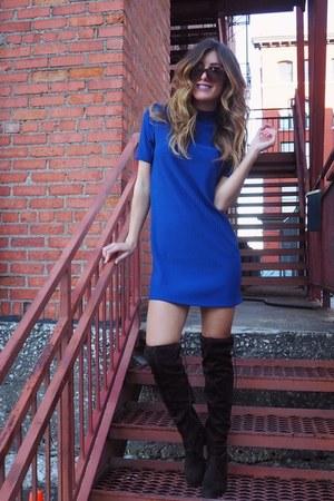 blue Forever 21 dress