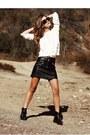 Ivory-forever-21-sweater-black-mango-skirt