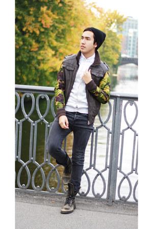 camo diy jacket DIY jacket
