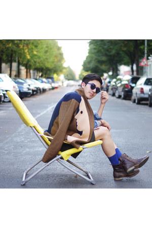 avant garde Sakolowski jacket - diy DIY shorts