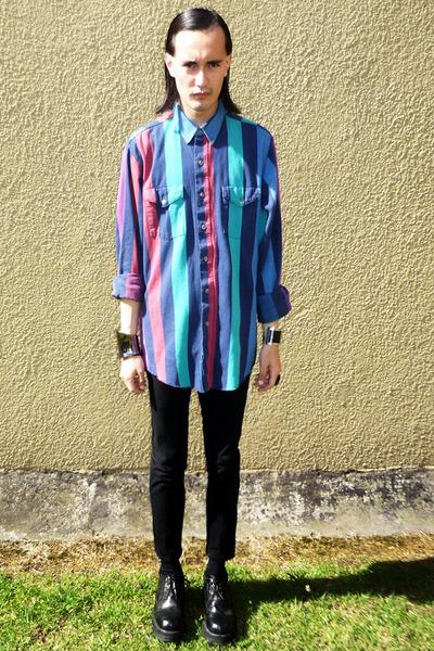 striped Wrangler shirt