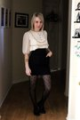White-erin-fetherston-for-target-dress-black-ebay-skirt-black-target-stockin