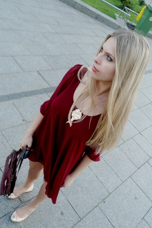 new look dress - new look flats