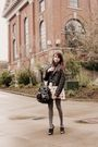 Black-h-m-jacket-black-urban-outfitters-blouse-black-h-m-purse-pink-zara-s