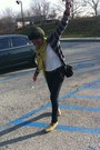 Glittery-toms-shoes-knitted-aldo-hat-old-navy-cardigan-f21-pants
