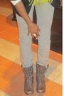 Black-forever-21-blazer-bdg-jeans-brown-steve-madden-boots-daffys-bag