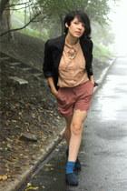 camel 3Suisses shorts - beige cotton 3Suisses shirt