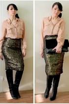 3Suisses shirt - no name skirt
