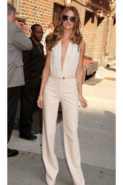 """Off White Tops, Off White Pants 