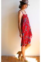 vintage dress - vintage skirt