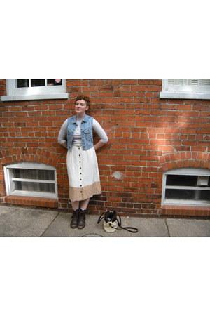 madewell skirt - madewell wallet